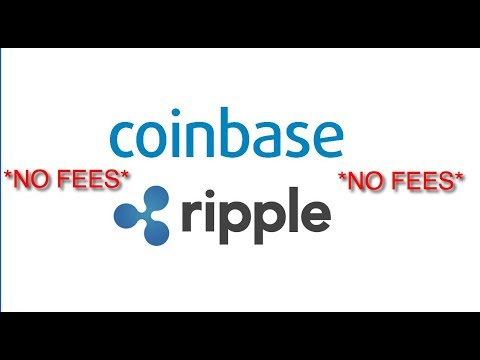 How to buy Ripple using Coinbase without fees.