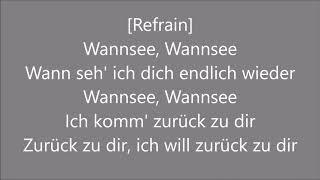 Die Toten Hosen - Wannsee (Lyrics)
