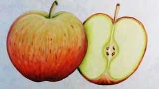 Maçãs – Câmera Rápida – Apple painting por Adilson G. Amaral