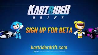 KartRider: Drift - Play Closed Beta Trailer (2020)