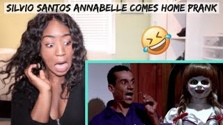 *SCARY* Canadian REACTS to Brazilian Prank Video by Silvio Santos (Annabelle 3 Prank)