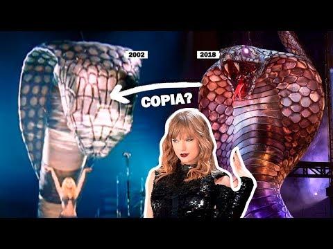 Taylor Swift le copió a Shakira en su gira Reputation Stadium Tour?!
