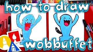 How To Draw Wobbuffet Pokemon