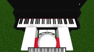 Roblox Watashi no uso | Roblox piano (Call me maybe at the end)[old]