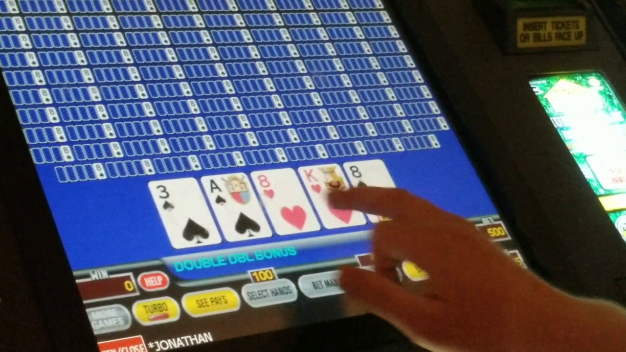 10 MINUTES OF $125/hand 100 Play Video Poker - YouTube