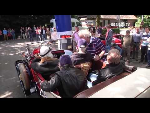 In de Regio 22-06-2014: Classic Car Rally 2014