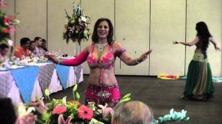 ZAMIRA´S BELLY DANCERS, MIX ARABE EN SAN MIGUEL 15.6.14