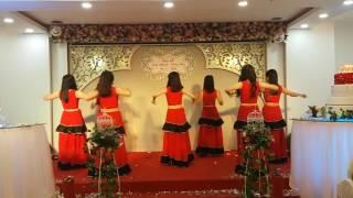 SVCG Thiên Ân múa Rumba_Đám cưới chị Nhi & anh Nhiên 26/11/2016