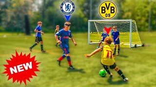 I Challenged Kid Footballers to A Football Tournament! KID HALAAND vs KID HAVERTZ