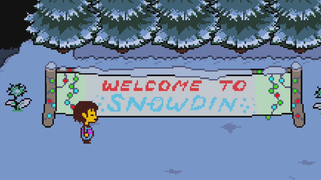Undertale Part 5 Snowdin Town  Youtube. Road Ford Signs. Birthday Party Signs. Hunger Games Signs Of Stroke. Printable Christmas Signs Of Stroke. Building Signs Of Stroke. Release Signs Of Stroke. Zodiacblog Signs. Penyakit Signs