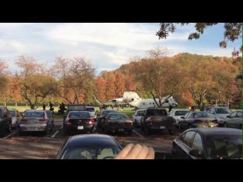 President Obama arrives on campus: Ohio University