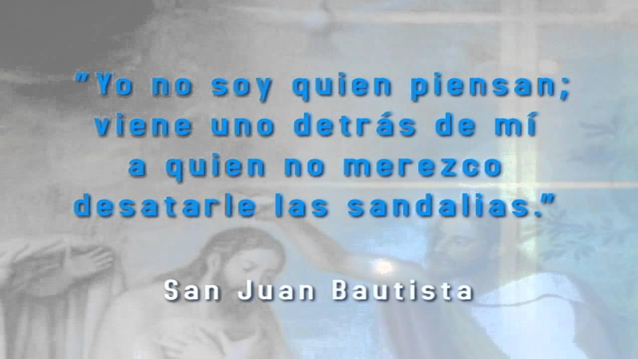 Frase San Juan Bautista