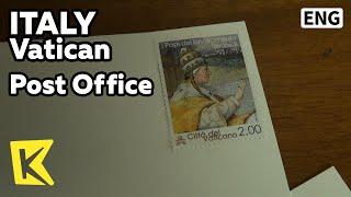 【K】Italy Travel-Vatican[이탈리아 여행-바티칸]우체국에서 보내는 엽서/Post Office/Post card/Letter