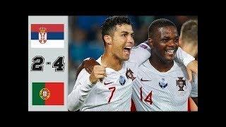 Cristiano Ronaldo(Portugal) Vs Serbia HD 1080i (07/09/2019) Highlights & Goals