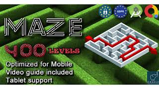 Maze 400 (Admob + GDPR + Android Studio) | Codecanyon Scripts and Snippets