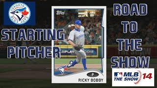 """MLB 14 The Show PS4 :: RTTS Starting Pitcher ep 35 """"Another New Pitch"""""""