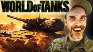 Kanonier Denzel & 6000 Schaden mit dem Leopard-Panzer | World of Tanks mit Dennis
