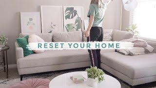 Get Your Life Together: Home Reset   Clean With Me ⚡️