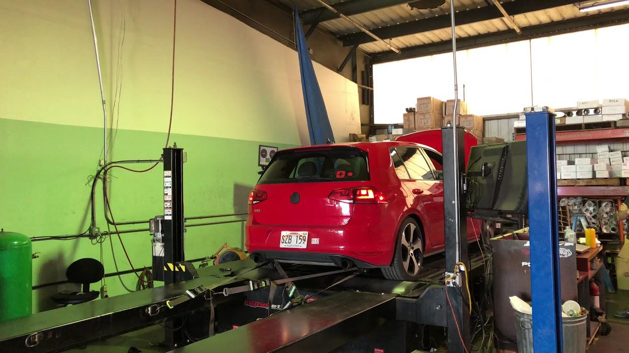 VW Gold GTI Stratified Dyno Pull