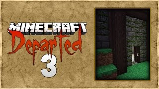 FTB Departed Minecraft Modpack - #3 - Base idea & Ore Doubling - Nevermine 2 Advent Of Ascension