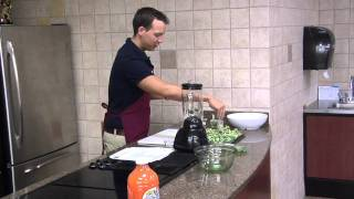 Celebrity Guest: Tyler Ramey, Ymca Healthy Living Director - Roasted Broccoli With Pine Nuts