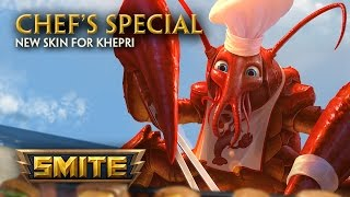 SMITE - New Skin for Khepri - Chef's Special dinle ve mp3 indir