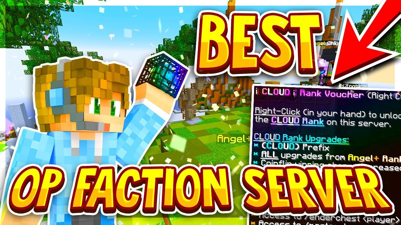 minecraft faction servers with free ranks