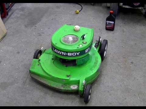Pull Cord Repair On 2 Cycle Lawn Boy Lawn Mower