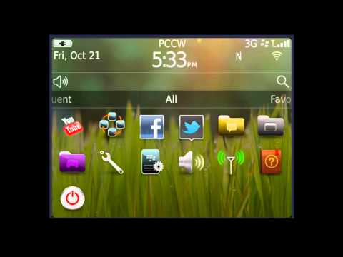 BlackBerry Bold 9790 - Set-up Wi-fi