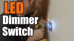 LED Dimmer Switch That Works | THE HANDYMAN |