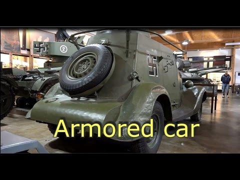 Armored car Ba 20- World War II Military vehicle