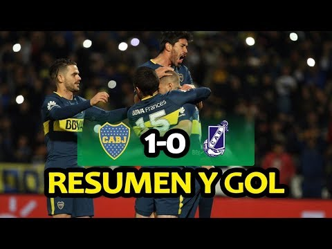 Resumen y gol Boca 1-0 Guillermo Brown PM