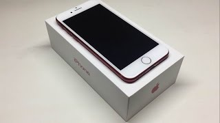 iPhone 7 Product Red 256GB Unboxing and First Look