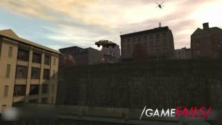 """Game Fails: GTA IV """"Aaaaaaand... nailed it"""""""