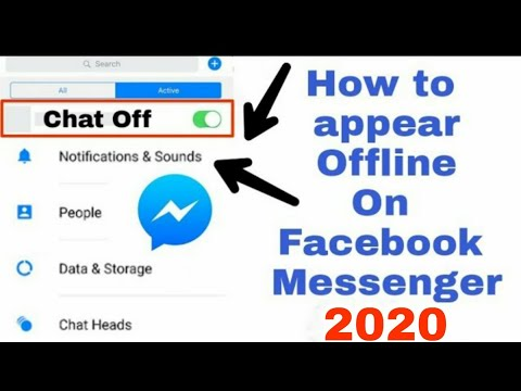 chat off on facebook