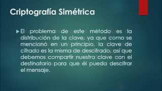 Cifrado simétrico y asimétrico