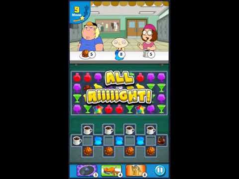 Family Guy Another Freakin Mobile Game Level 745 - NO BOOSTERS