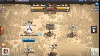 Clash Of Clans Max 9 VS GMV This is INSANE !!