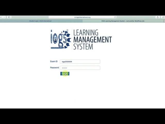 How to Take IOGS Online Exam