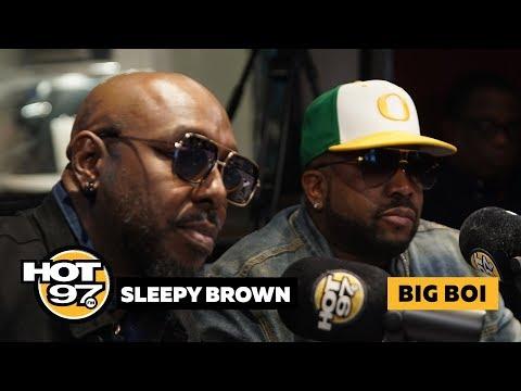 Big Boi & Sleepy Brown React To Earthgang Debate, Talk Superbowl & Outkast's Legacy