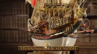 Build Sovereign of the Seas 1:84 Scale Model Kit from ModelSpace
