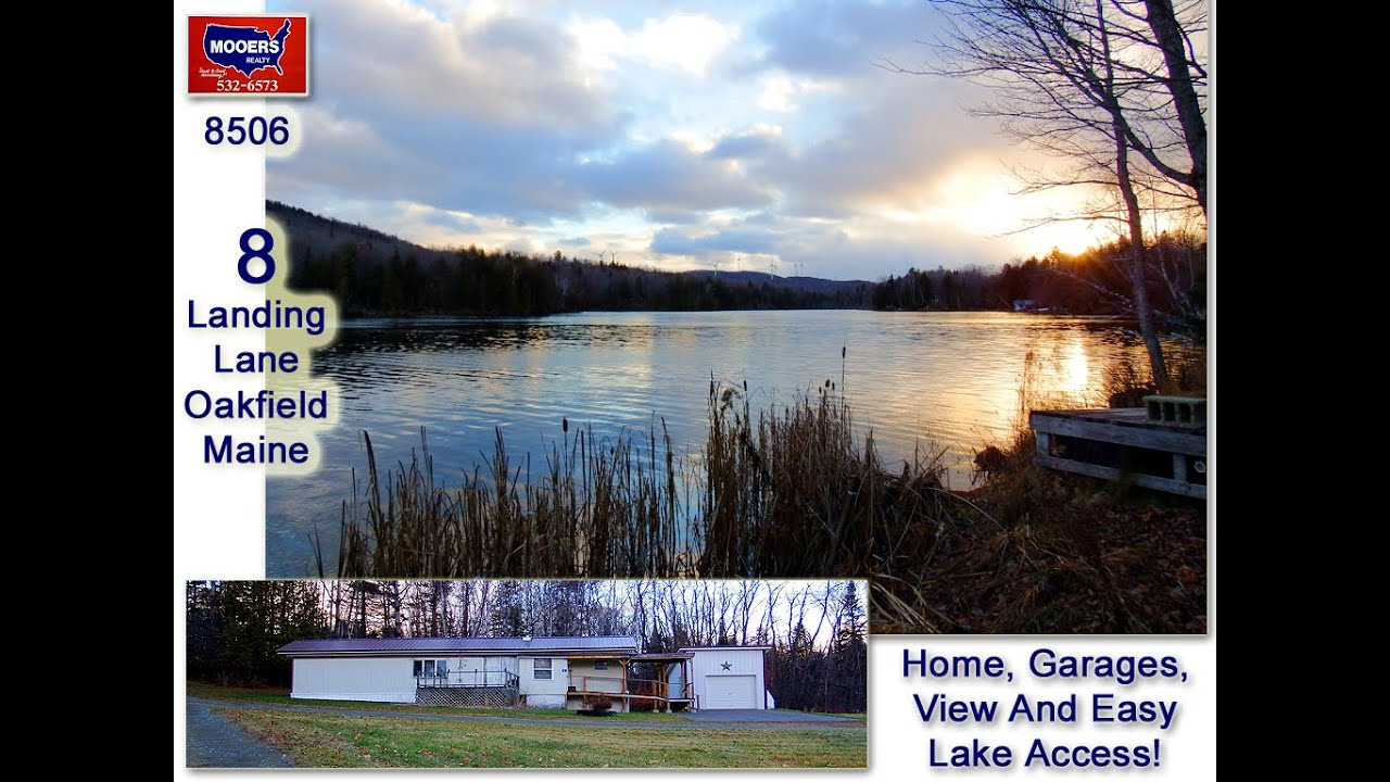 use the maine lake landing cheap maine retirement home land garage mooers 8506 youtube