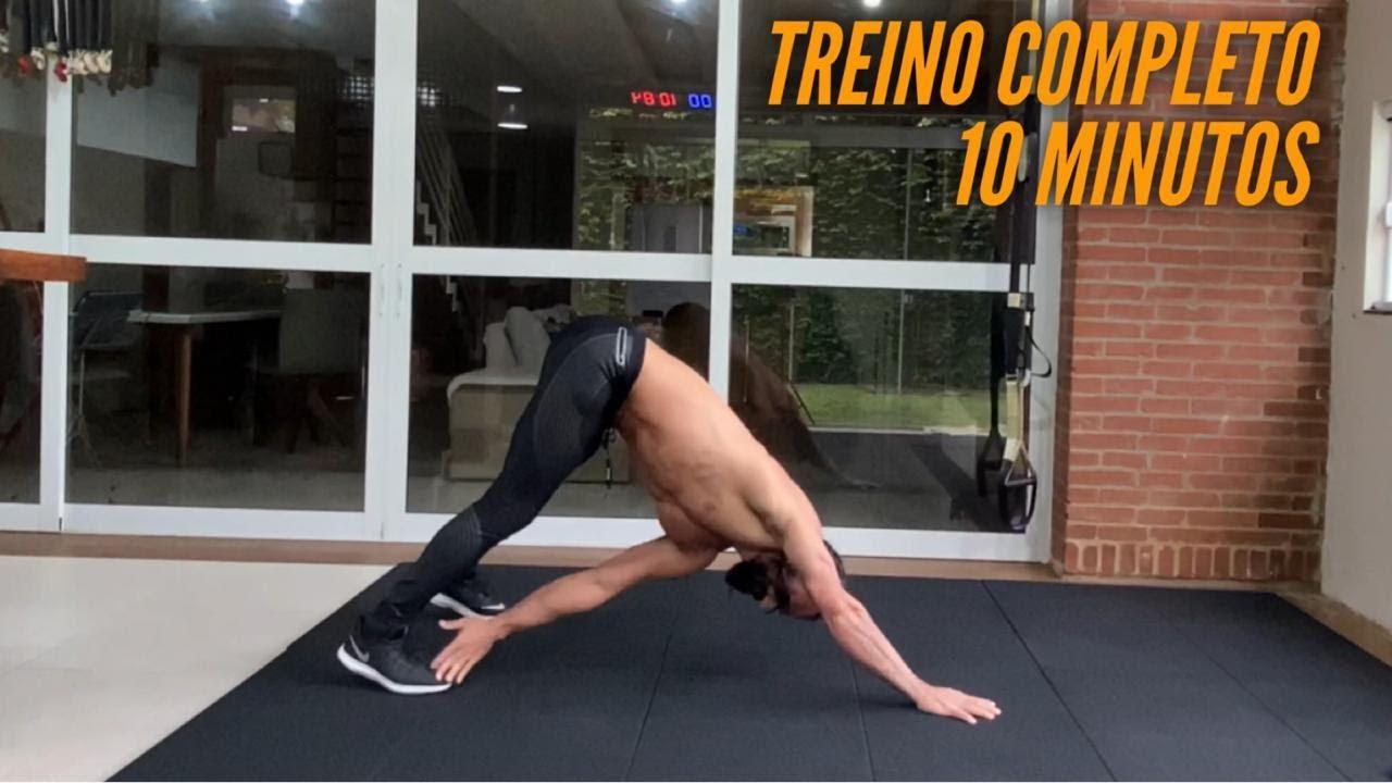 Treine o corpo todo em 10 minutos !!!