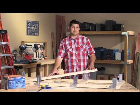 Simpson Strong-Tie DIY Shelving Unit