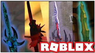 HOW TO GET ALL THE MYTHIC KNIVES FOR FREE IN ROBLOX ASSASSIN!!!