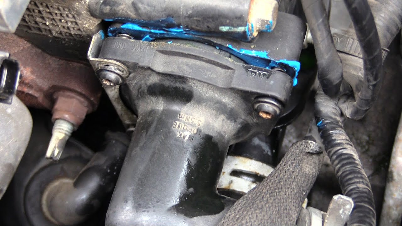 Ford Escort Thermostat Change Youtube