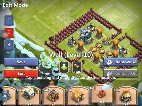 Castle Clash-Town Hall 17-Base Build