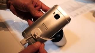 HTC One M9 hands-on MWC 2015 (Greek)