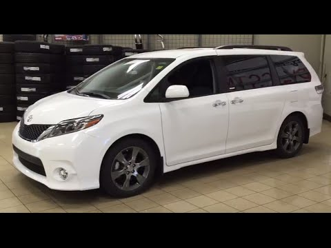 2016 Toyota Sienna Se Review