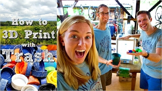 How to 3D Print with Recycled Trash! | Maddie Moate